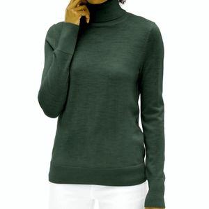 NWOT Gap Merino Wool Turtleneck Sweater Size XS